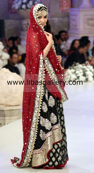 Top pakistani designer zainab chottani bridal dresses 2013 for Indian wedding dresses usa