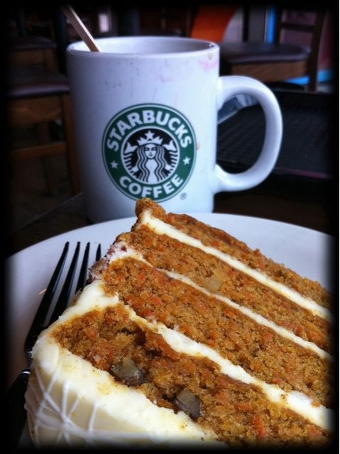 Starbucks Carrot Cake Food Pastry Desserts Desserts