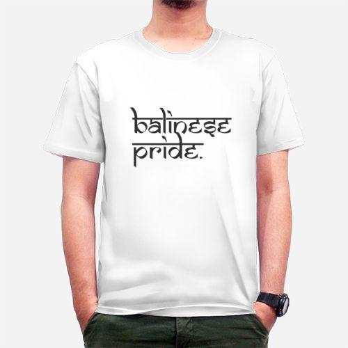 Balinese Pride dari Tees.co.id oleh XYZ design