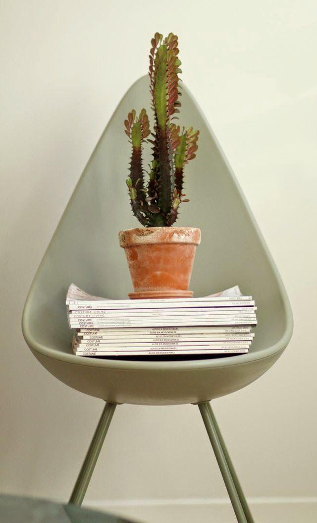 Arne Jacobsen's Drop chair