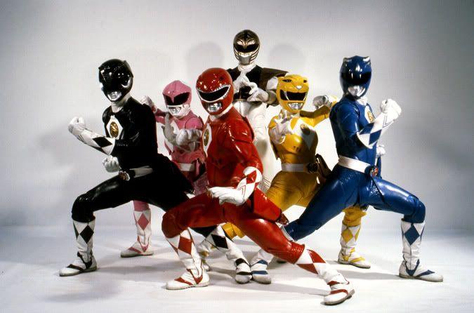 Mighty Morphin' Power Rangers. (The movie uniforms were badass!!!)
