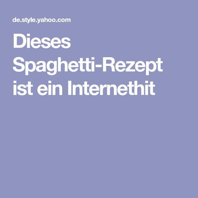Dieses Spaghetti-Rezept ist ein Internethit