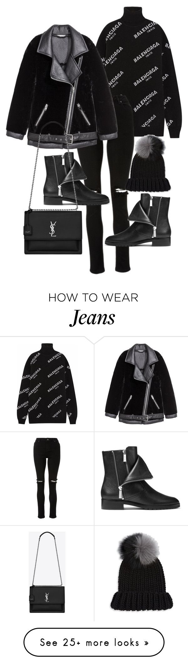 """""""Untitled #22931"""" by florencia95 on Polyvore featuring Balenciaga, Michael Kors, Yves Saint Laurent and Eugenia Kim"""