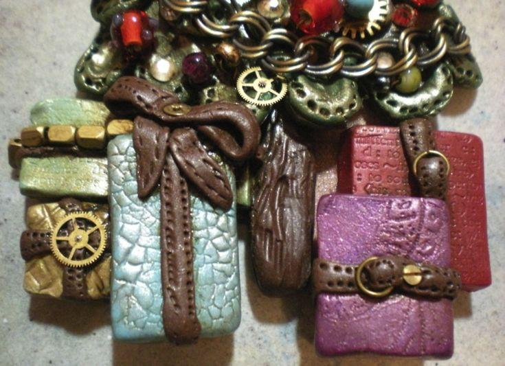 adorno regalos steampunk