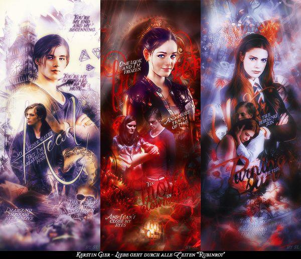 Ruby Red Trilogy Gwen Fan Art