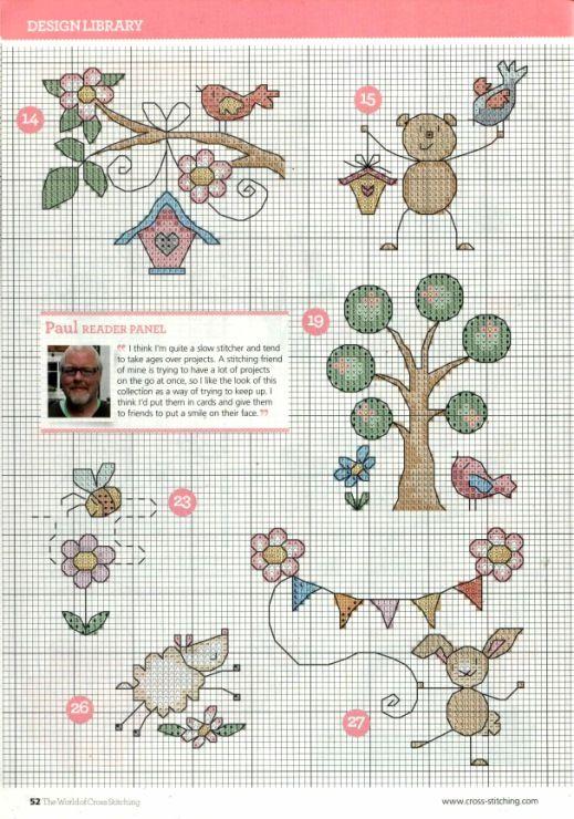 Gallery.ru / Фото #28 - The world of cross stitching 215 - tymannost
