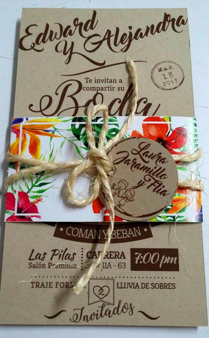 Wedding invitation (close)