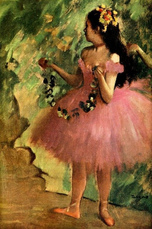 Edgar Degas   Dancer in pink dress, 1880