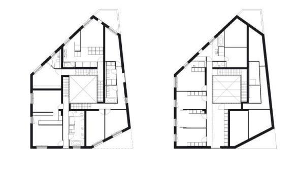 Galerie k příspěvku: Městská vila v Lousanne | Architektura a design | ADG