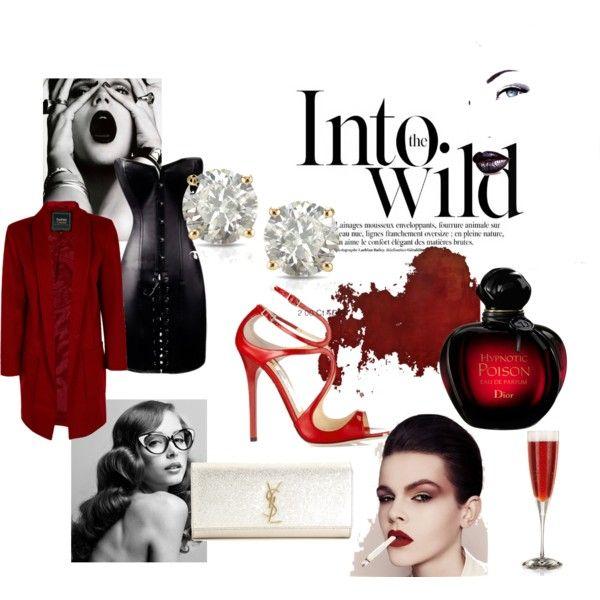 """Wild red pleasure"" by crina-ioanina-bejan on Polyvore"