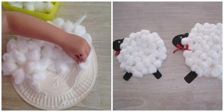 invitaciones con forma de oveja