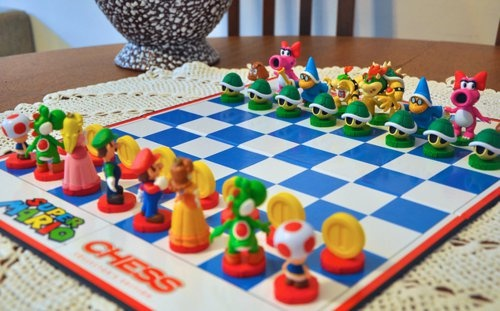 Mario Chess Game