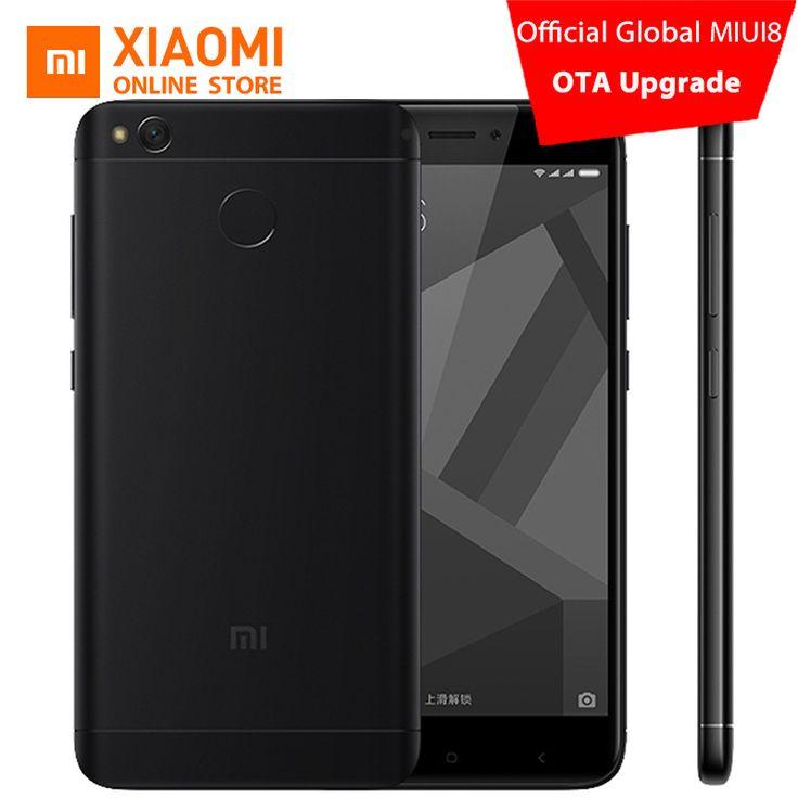 """Original #Xiaomi #Redmi 4X 4 X Mobile #Phone #Snapdragon 435 Octa Core CPU 2GB RAM 16GB ROM 5.0"""" 13MP Camera 4100mAh MIUI 8.2"""