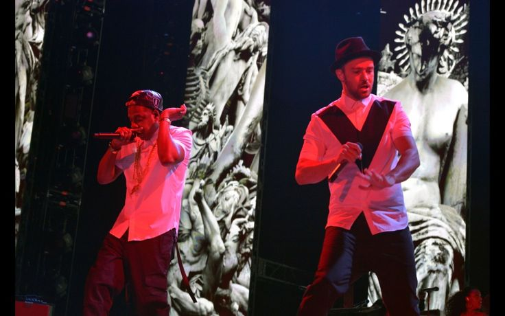 Justin Timberlake and Jay-Z At The #RoseBowl Stadium on July 28, 2013  http://celebhotspots.com/hotspot/?hotspotid=6453&next=1