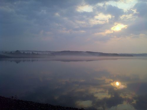We're grateful for magical mornings on the Guysborough harbour.