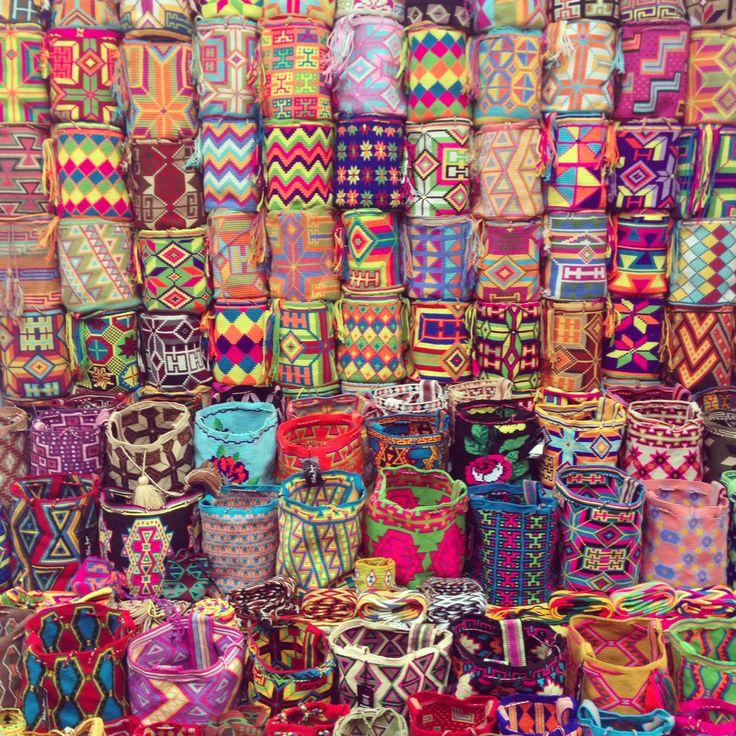 Artesanías guajiras en Cartagena