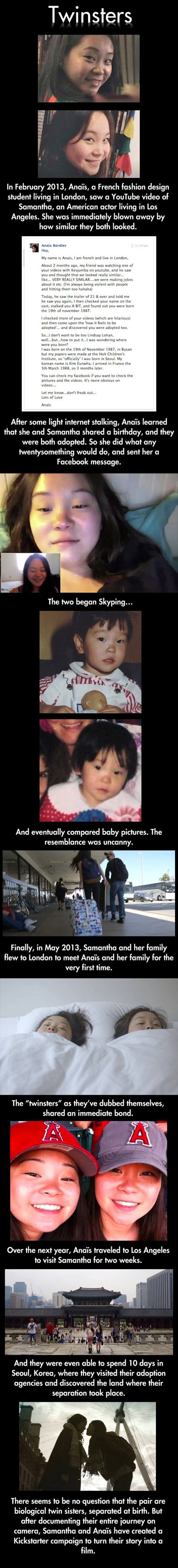 Twinsters // funny pictures - funny photos - funny images - funny pics - funny quotes - #lol #humor #funnypictures
