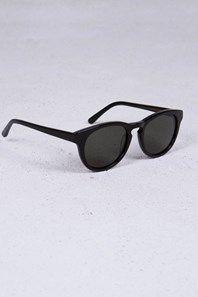 State black från Han Kjobenhavn, handgjorda solglasögon av italiensk acetat. Solglas från Carl Zeiss. Se bild för storleksguide med mått.