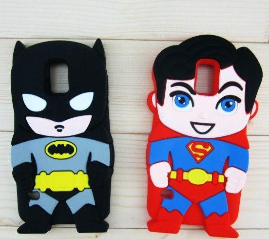Black batman / Superman samsung s5 case