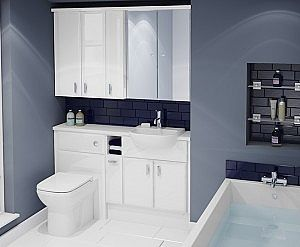 Atlanta's Lovely Bathroom Lighting - As well as beautiful bathroom furniture, we also offer some bathroom lighting options. Bathroom lighting tends to differ from person to person, some prefer a bright, light room that's good for getting ready in whilst others like a slightly dimmer, cosier environment.