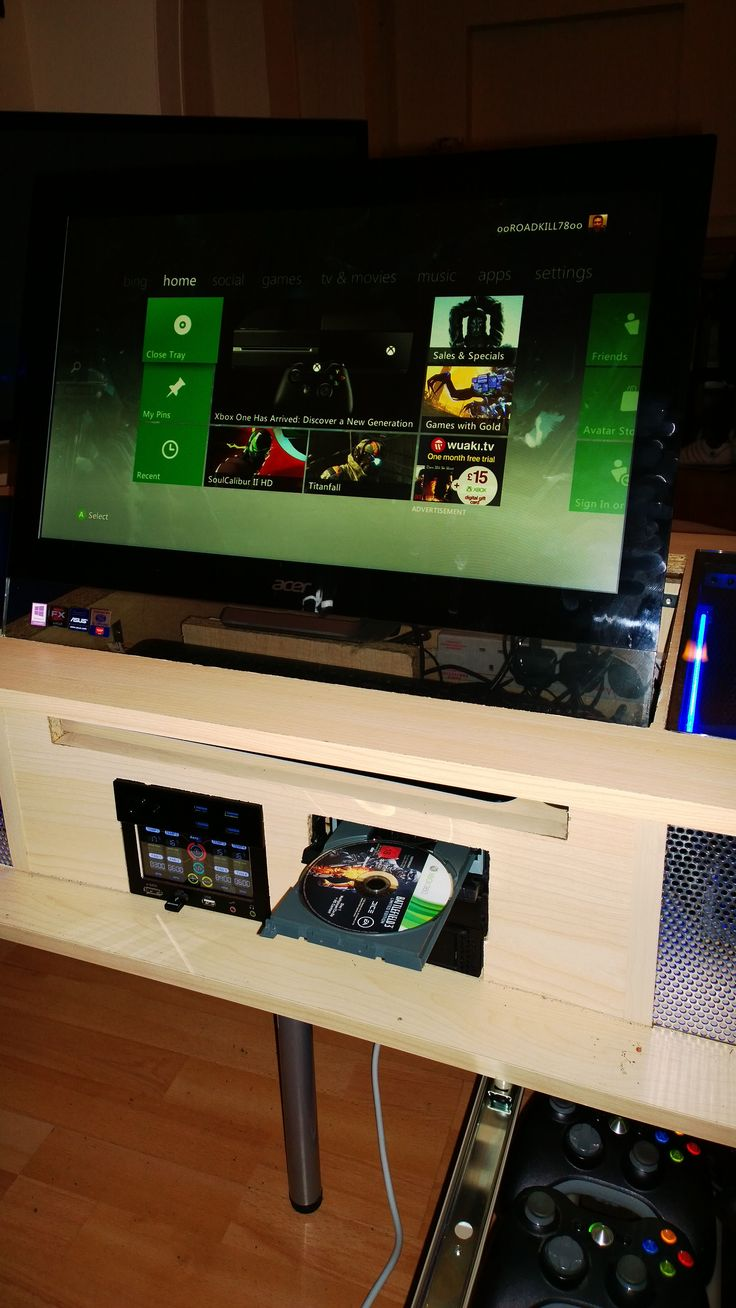 Man Caves For Xbox One : Gaming setup consoles videogames pc ps