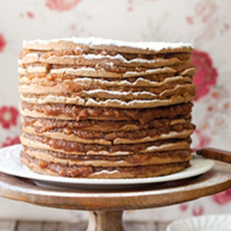 Paula Deen Apple Stack Cake