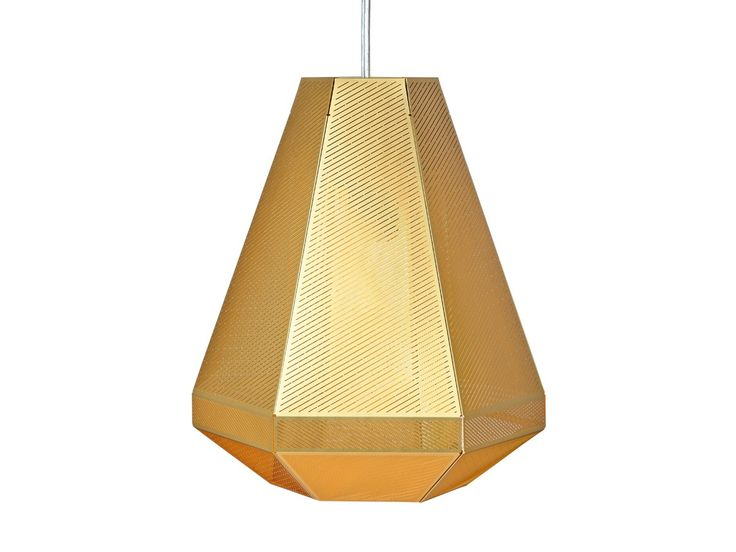 Tom+Dixon+Cell+Pendant+Tall+in+Silver+and+Gold