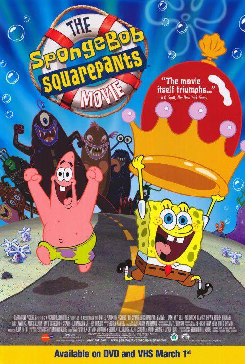 Spongebob squarepants movie poster