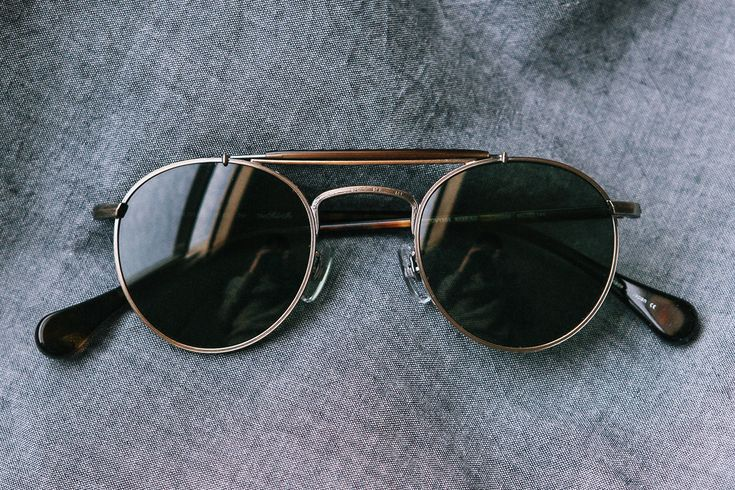 Oliver Peoples The Soloist Round