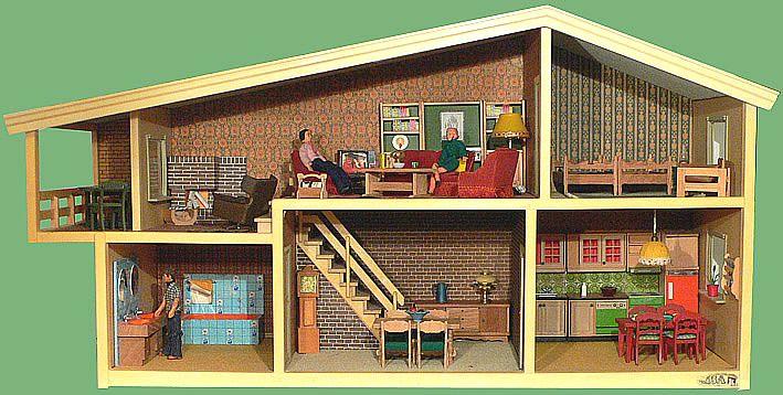 17 beste afbeeldingen over bouwen huizen digitale for Poppenhuis bouwen