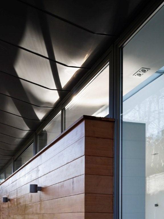 Zinc roof / Cladding detail