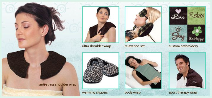 Warm Buddy Heat Therapy - to soothe aching muscles or for the ultimate in relaxation www.expressionsbygigi.com