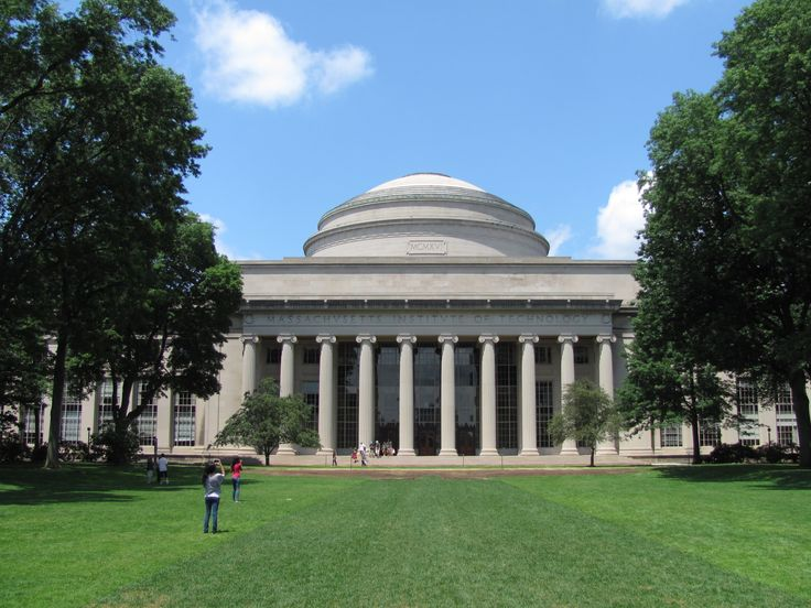 MIT [Massachusetts Institute of Technology] Building-10 and the Great Dome, Cambridge Massachusetts