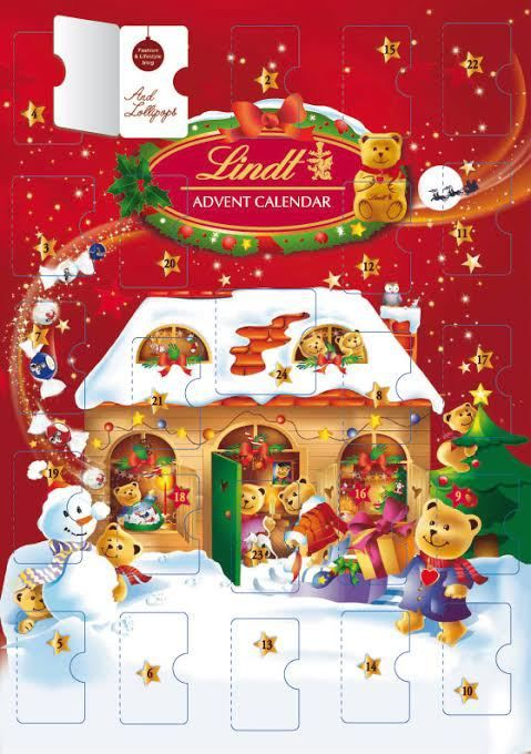And Lollipops Lindt Advent Calendar