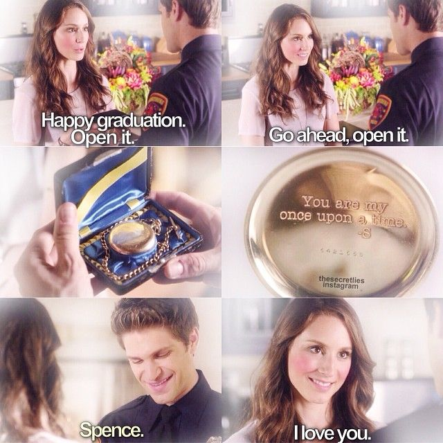 """S5 Ep12 """"Taking This One To the Grave"""" - Spencer and Toby awwwwwwwww they r so cute"""