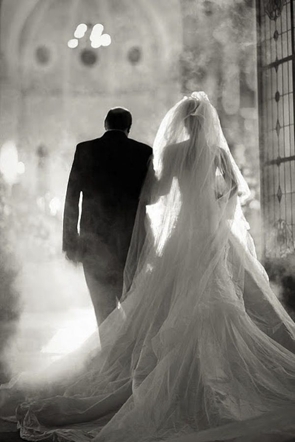 Bride & Father of the Bride Wedding Photo #inspiration
