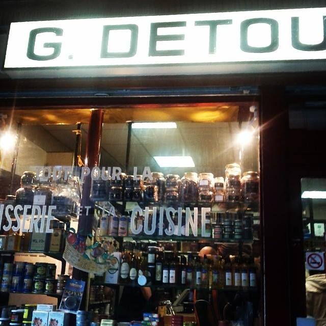 Du côté de la rue Montorgueil #Paris - décembre 2013 - Photo Martine Le Jossec
