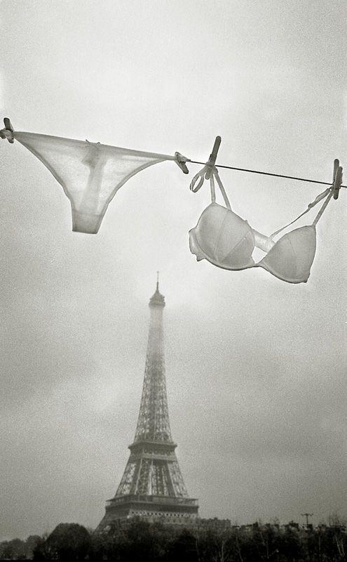 Paris in lingerie