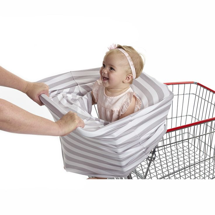 """3-in-1 Car Seat, Shopping Cart & Nursing Cover Free Carry Pouch Included """"The Elegant"""""""