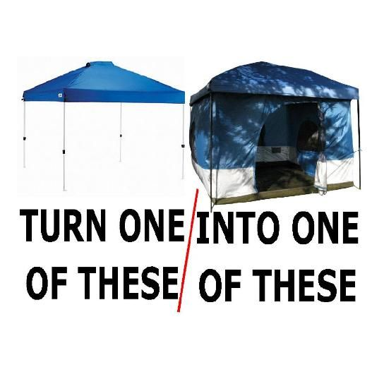 Photos  Standing Room Tent Supply add sides to a shade canopy  sc 1 st  Pinterest : tailgating tent with sides - memphite.com