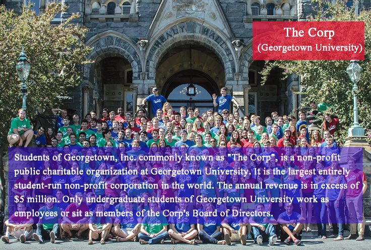 Are you aware about The ''Corp'', the largest student run non profit organization in the world?