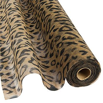 Leopard Print Gossamer will give your venue a wild look. Leopard Print Gossamer is versatile and easy to use. It's our #1 choice for decorating.