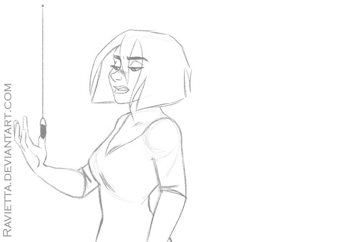 Behold Mora by Ravietta . Character Sketch / Drawing Animation