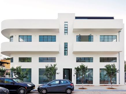 Beautiful renovation of an industrial space, Now a special apartment building