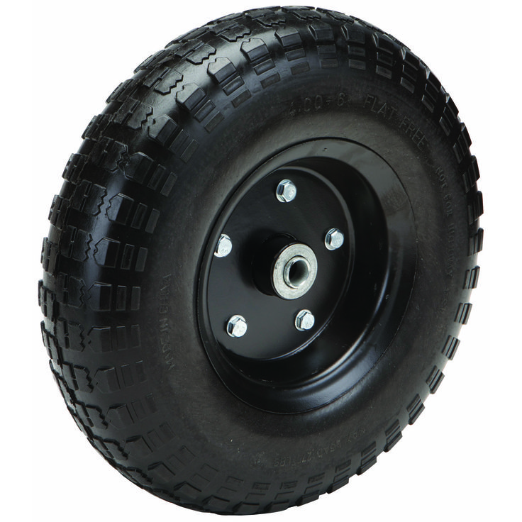 13 in. FlatFree Heavy Duty Tire with Powder Coated Steel