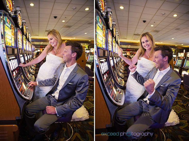 Las Vegas Strip Wedding Photo Tour, Las Vegas Sign, Exceed Photography, Fremont Street Photos, Casino Photos