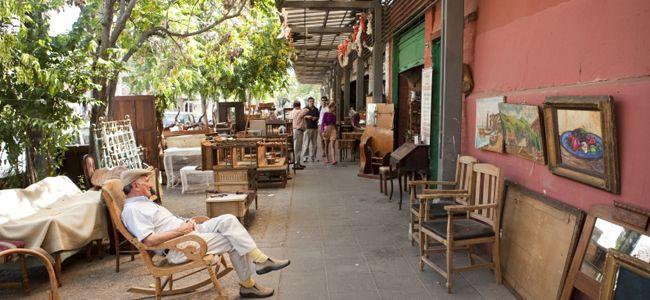 Comer, beber y comprar en el Barrio Italia, en Santiago de Chile - Chile Travel