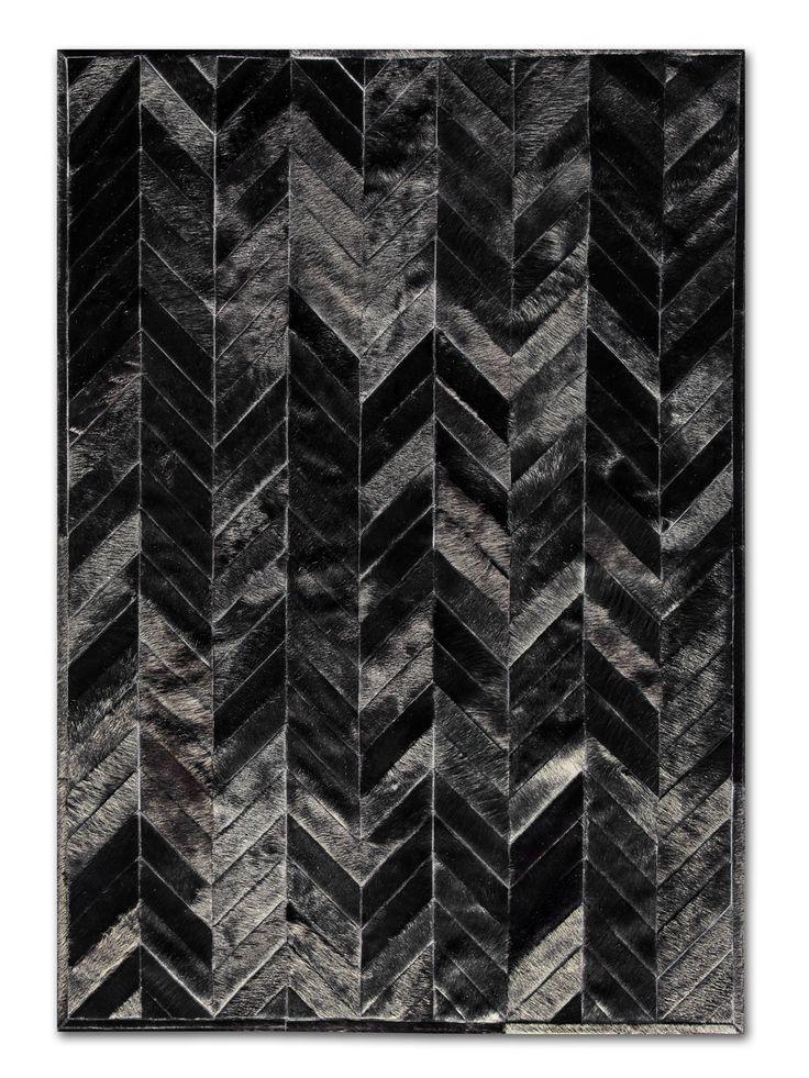 black + white chevron pattern