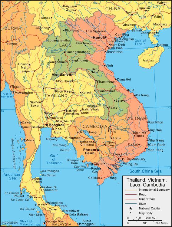 Map - Vietnam