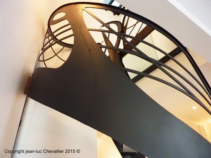 1000 images about escalier design on pinterest baroque - Escalier debillarde ...